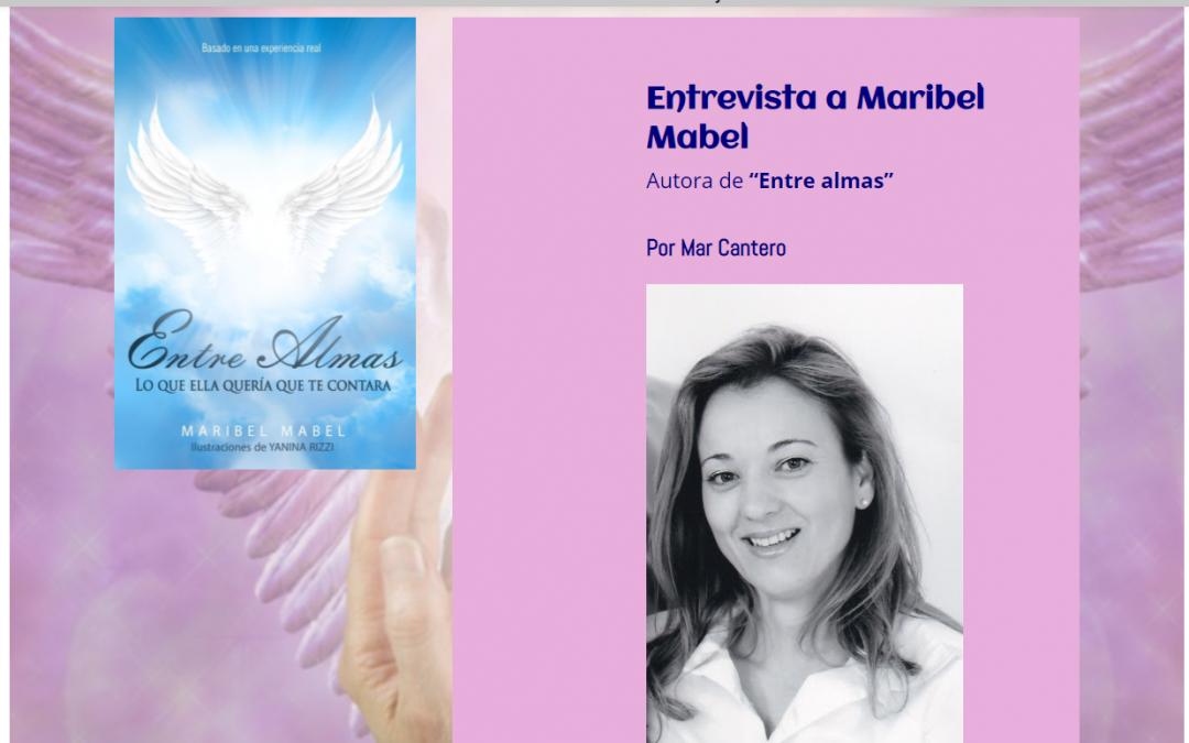 Mentes abiertas entrevista 📰 a Maribel Mabel autora de Entre Almas