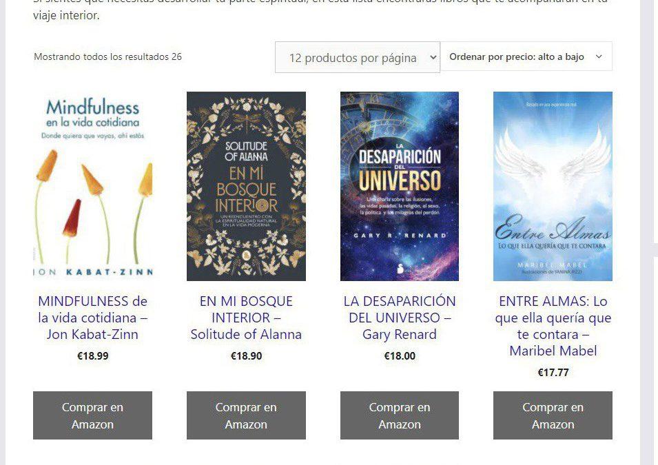 Entre Almas 📚 seleccionado entre los mejores 15 libros 📚 para el despertar espiritual ✨.