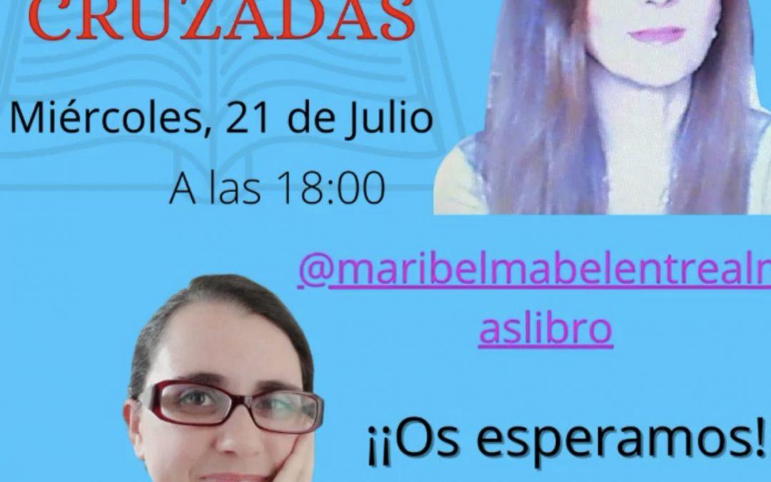 Maribel Mabel Entre Almas 📘 junto a Beatriz Betegón en #preguntascruzadas 🔀